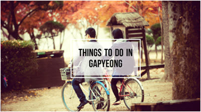 Gapyeong tour